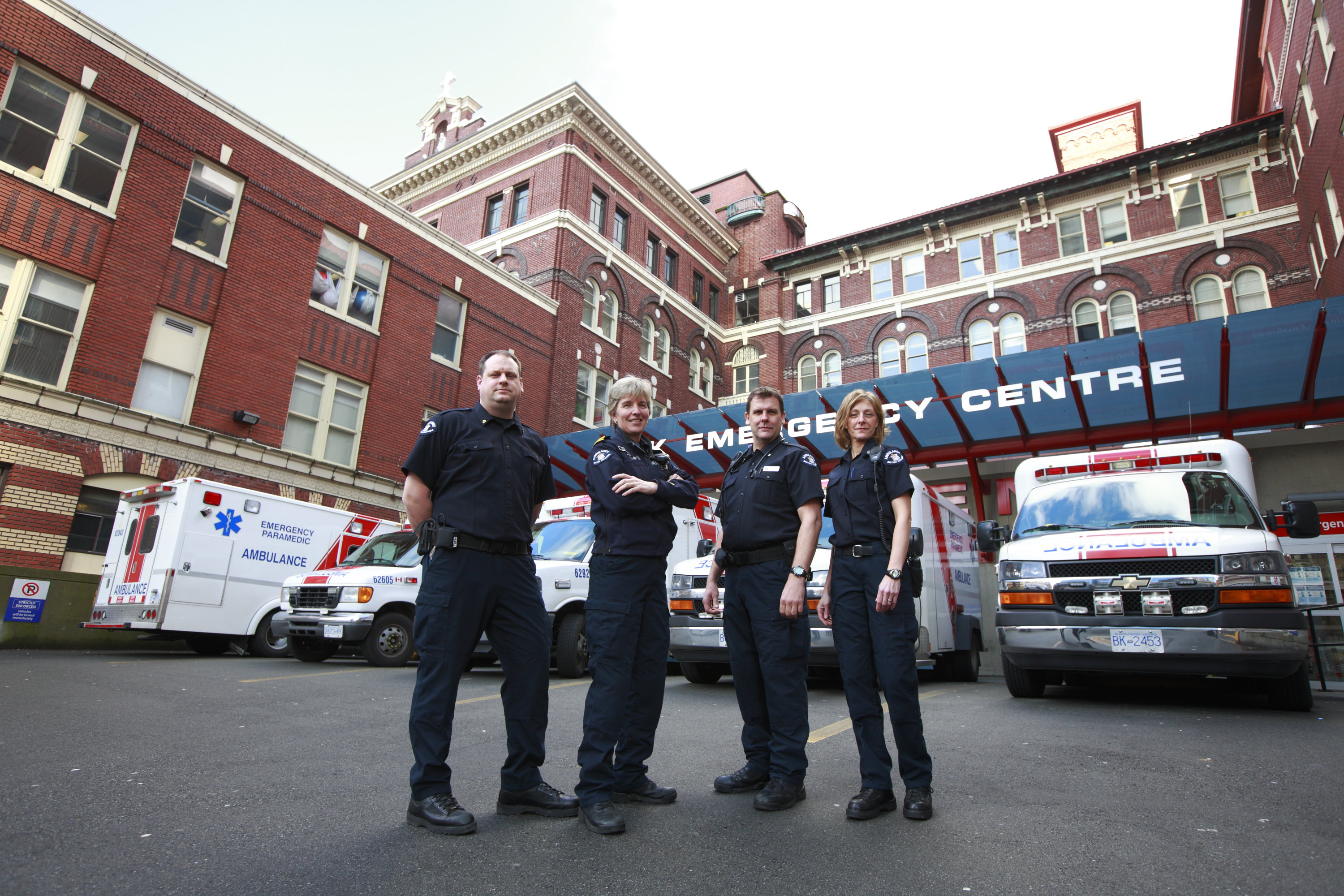 Emergency Responders at St. Paul's Hospital